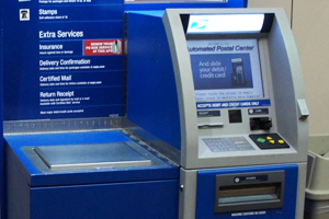 EZ Access technologies used in United States Post Office self service kiosks.
